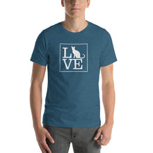 "Load image into Gallery viewer, ""LOVE (Cats)"" T-Shirt"