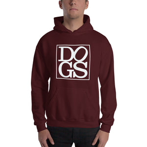 """DOGS"" Hooded Sweatshirt"