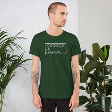 "Load image into Gallery viewer, ""Doggos & Tacos"" T-Shirt"
