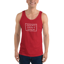 "Load image into Gallery viewer, ""Adopt. Don't Shop."" Tank Top"
