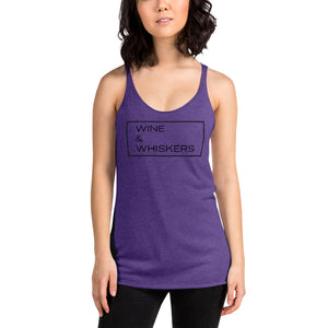 """Wine & Whiskers"" Women's Tank"
