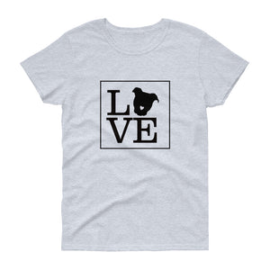 """LOVE (Dog)"" Women's T-shirt"
