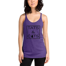 "Load image into Gallery viewer, ""Tats & Cats"" Women's Tank"