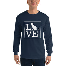 "Load image into Gallery viewer, ""LOVE (Cat)"" Long Sleeve"