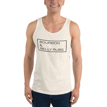 "Load image into Gallery viewer, ""Bourbon & Belly Rubs"" Tank Top"