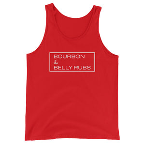"""Bourbon & Belly Rubs"" Tank"
