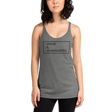 "Load image into Gallery viewer, ""Wine & Whiskers"" Women's Tank"