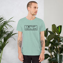 "Load image into Gallery viewer, ""Catnip Dealer"" T-Shirt"