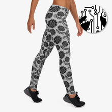 Load image into Gallery viewer, Circuit Lace Leggings