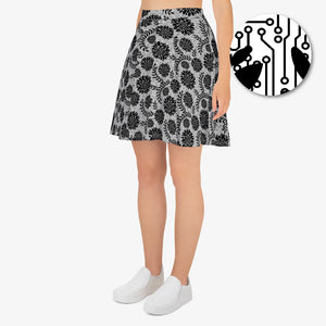 Circuit Lace Skater Skirt