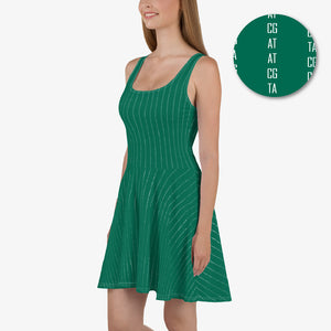 All About the Basepairs Skater Dress