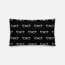 Load image into Gallery viewer, Grand Spectacles Black Pillow
