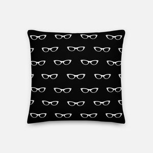 Grand Spectacles Black Pillow