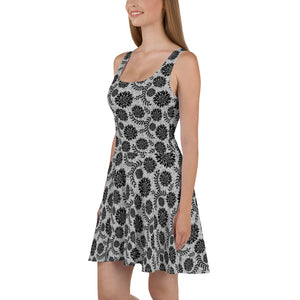 Circuit Lace Skater Dress