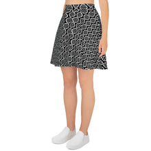 Load image into Gallery viewer, DNA Helix Skater Skirt