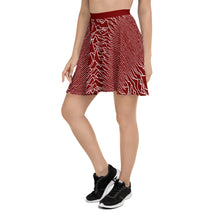 Load image into Gallery viewer, Pulsar 1919 Skater Skirt in Red