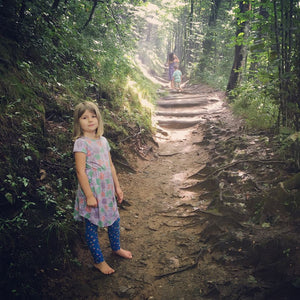 How Do You Hike with Kids?  Just Take a Deep Breath and Jump