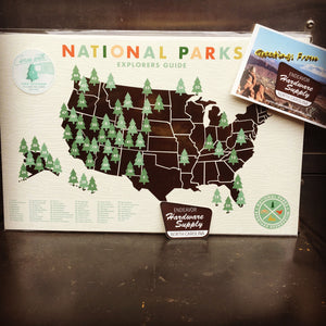 How Many National Parks Have You Visited?  Win this great Checklist Print!