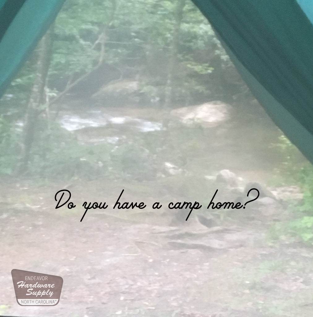 Do You Have a Camp Home?  (plus were you our winner?- read and find out!)