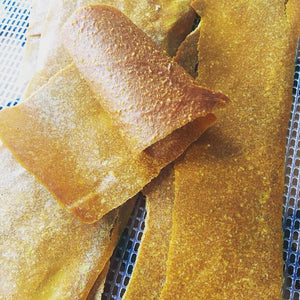 Carrot Cake and Pumpkin Pie Fruit Leather