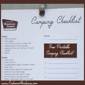 image about Printable Camping Checklist identified as Cost-free Printable Tenting Record! Process Components