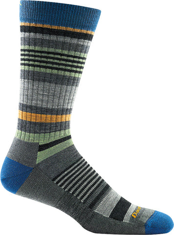 Men's Unstandard Stripe Crew Light Cushion Sock Gray
