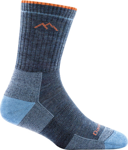 Women's Hiker Micro Crew Sock Cushion Denim