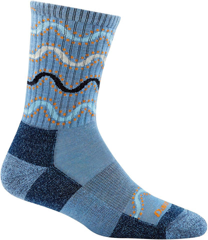 Darn Tough Women's Wandering Stripe Vapor Blue
