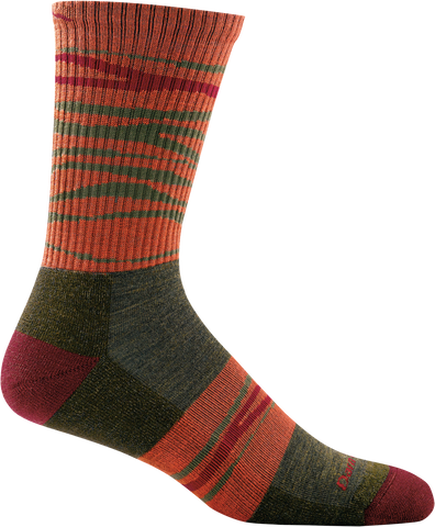 Men's Switchback Micro Crew Light Cushion Sock Forest