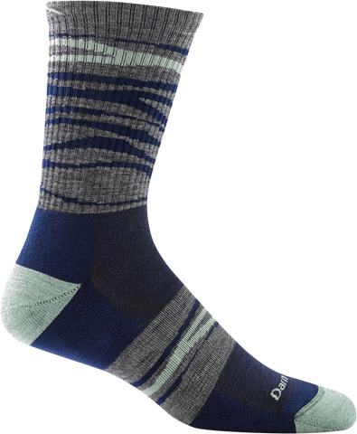 Men's Switchback Micro Crew Light Cushion Sock Navy