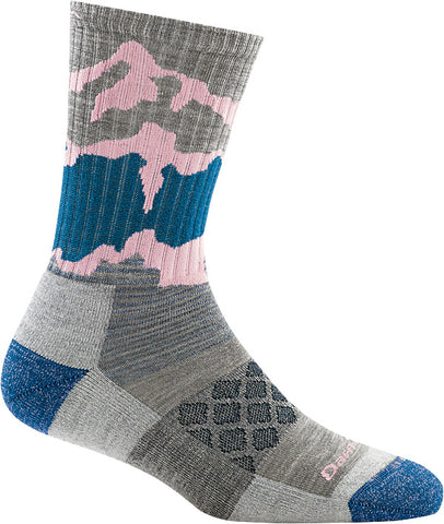 Women's Three Peaks Micro Crew Socks Light Gray