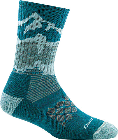 Women's Three Peaks Micro Crew Socks Teal