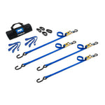 Utility Strap Easy Kit - 1 inch Utility - Made in USA - Choose Tightener/Tensioner Style-  length & Color