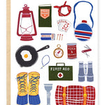 Adventure Gear Stationary Card