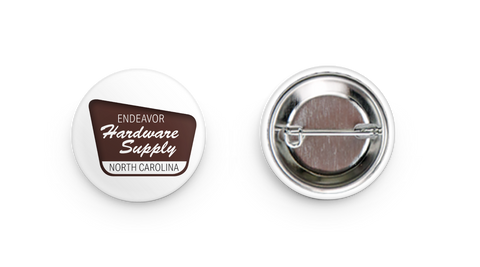 Mini Endeavor Hardware Logo Button