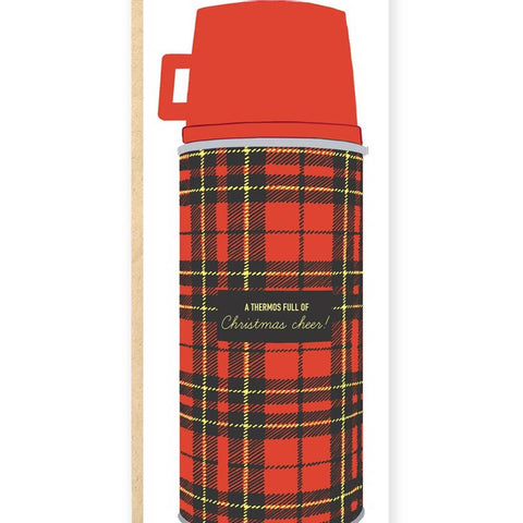 A Thermos Full of Christmas Cheer Stationary Card