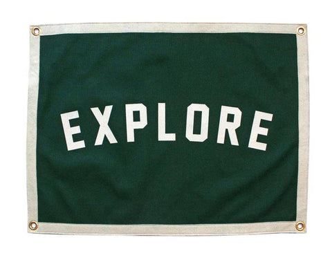 Explore Wool Camp Flag