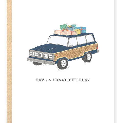 Have a Grand Birthday Stationary Card