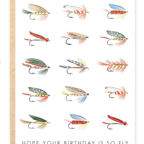 Hope Your Birthday is So Fly Stationary Card