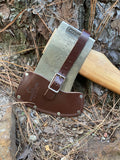 American Badass Tree Felling Axe- Hickory Handle 36 inches of chop