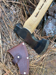 Premium Woodsperson 16 inch Camp Carver Axe