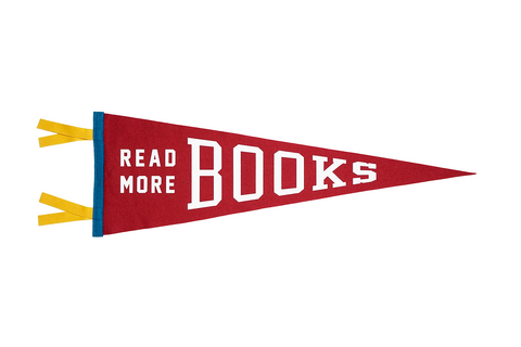 Read More Books Wool Pennant