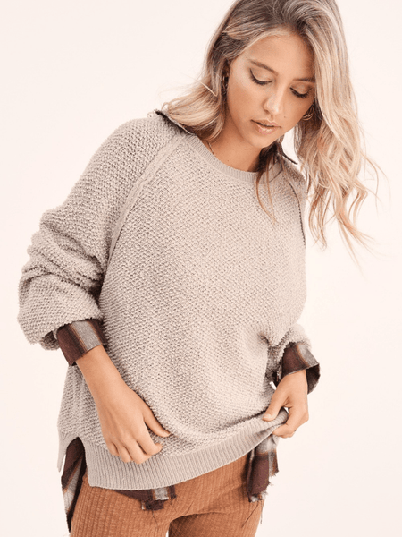 Taupe Caroline Sweater