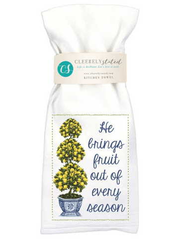 Lemon Tree Kitchen Towel