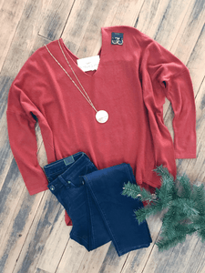 Rust Wryn Sweater