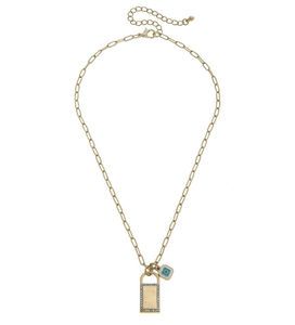 Elena Padlock Necklace