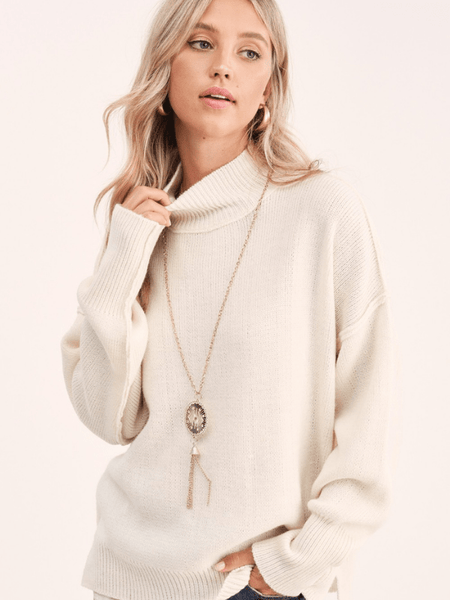 Ivory Luxe Sweater