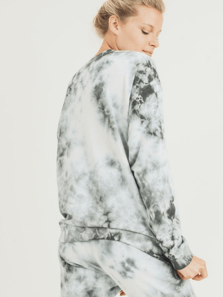 Cloud Tie Dye Top