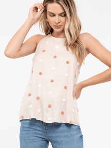 Blush Dot Top