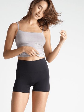 Ultralight Seamless Shortie- Black